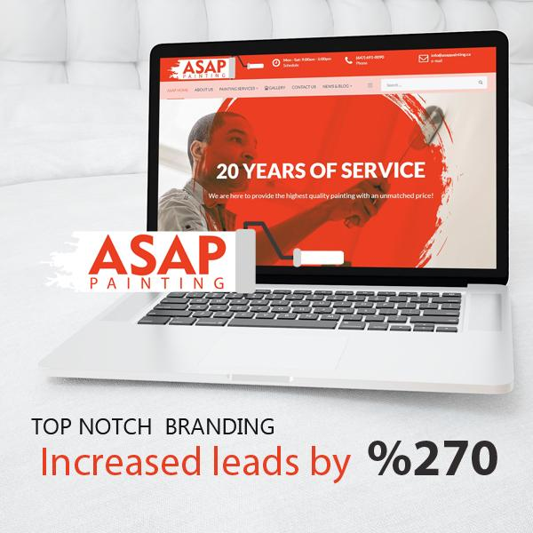 ASAP Painting: Website and Branding