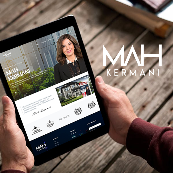 Mah Kermani: Real Estate Web Design & Branding